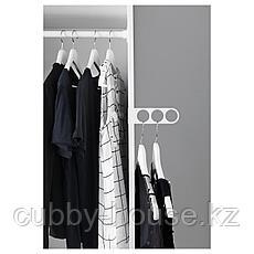 КОМПЛИМЕНТ Вешалка для плечиков, белый, 17x5 см, фото 2