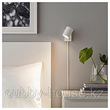 НИМОНЕ Бра/лампа для чтения, белый, фото 3