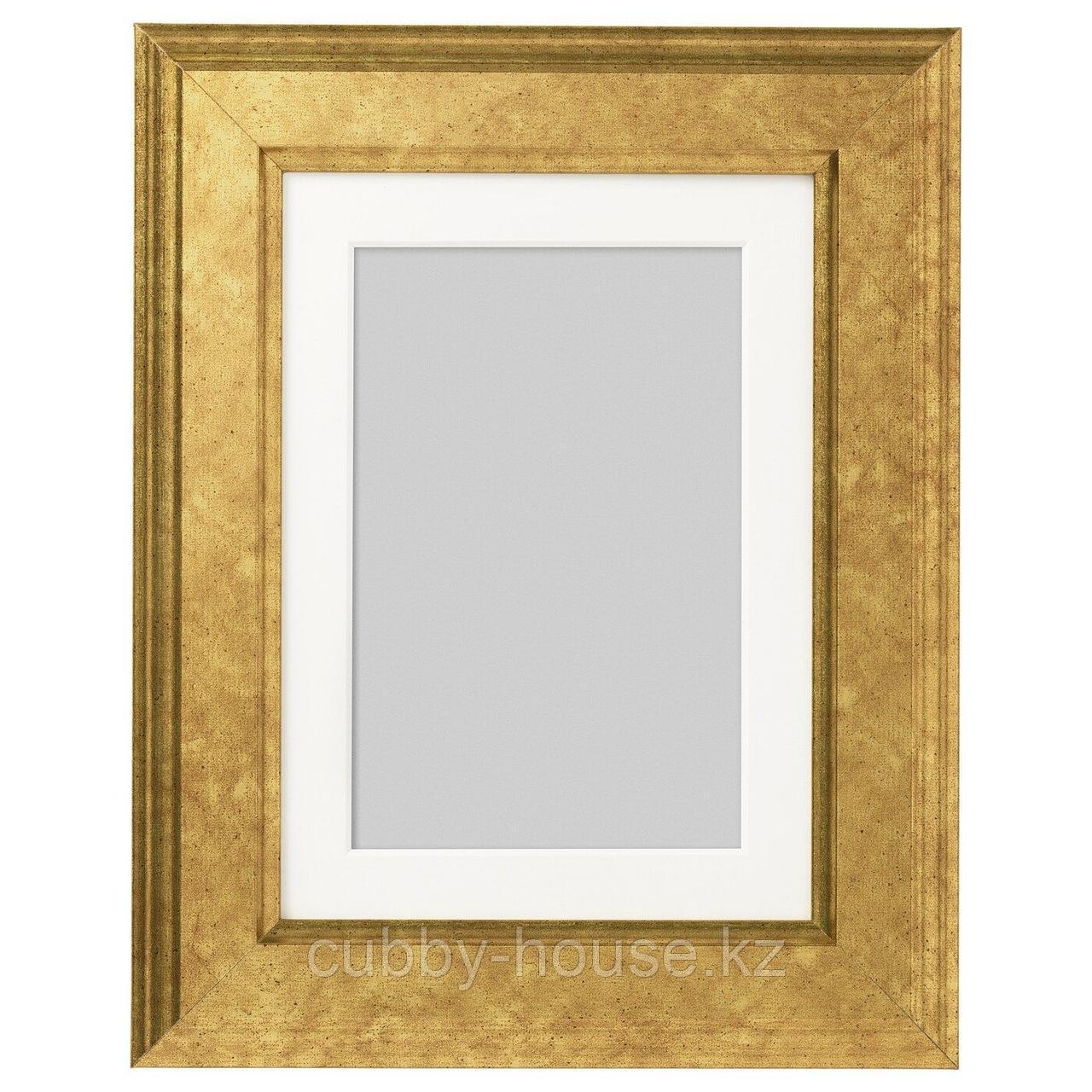 ВИРСЕРУМ Рама, золотой, 30x40 см