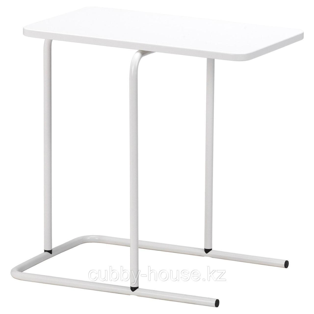 РИАН Придиванный столик, черный, 55x40 см