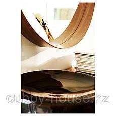 СТОКГОЛЬМ Зеркало, шпон грецкого ореха, 60 см, фото 3