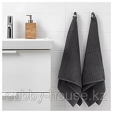 ВОГШЁН Полотенце, темно-серый, 50x100 см, фото 3