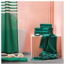 ВОГШЁН Банное полотенце, темно-зеленый, 70x140 см, фото 3