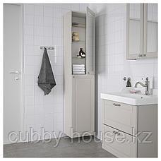 ГОДМОРГОН Шкаф высокий, Кашён светло-серый, 40x32x192 см, фото 2