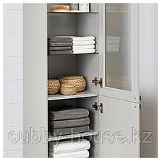 ГОДМОРГОН Шкаф высокий, Кашён светло-серый, 40x32x192 см, фото 3