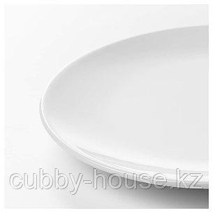 ФЛИТИГХЕТ Тарелка десертная, белый, 20 см, фото 2