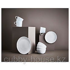 ФЛИТИГХЕТ Тарелка десертная, белый, 20 см, фото 3