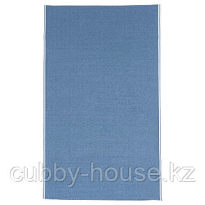 СЕВЭРД Скатерть, темно-синий, 145x240 см, фото 2