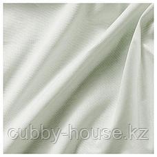 ХАННАЛИЛЛ Гардины, 1 пара, светло-зеленый, 145x300 см, фото 3