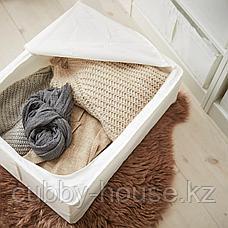 СКУББ Сумка для хранения, белый, 44x55x19 см, фото 3