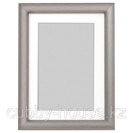 СИЛВЕРХОЙДЕН Рама, серебристый, 61x91 см, фото 2