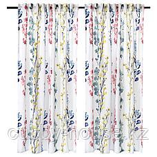 АСКАРИА Гардины, 1 пара, цветок разноцветный, 145x180 см, фото 2