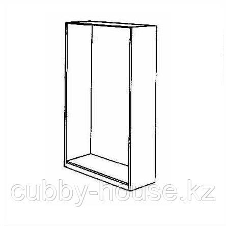 ПАКС Каркас гардероба, белый, 100x58x201 см, фото 2
