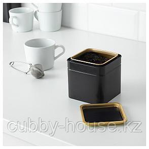БЛОМНИНГ Банка для кофе/чая, 10x10x10 см, фото 2