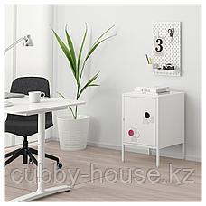 ХЭЛЛАН Шкаф, белый, 45x50 см, фото 3