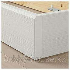 ХАВСТА Цоколь, белый, 81x37x12 см, фото 3