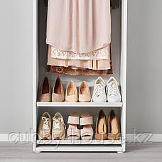 ХЭЛПА Полка для обуви, белый, 60x40 см, фото 2