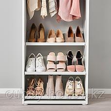 ХЭЛПА Полка для обуви, белый, 60x40 см, фото 3
