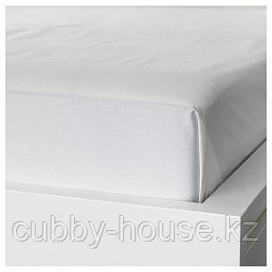 НАТТЭСМИН Простыня, белый, 240x260 см, фото 2