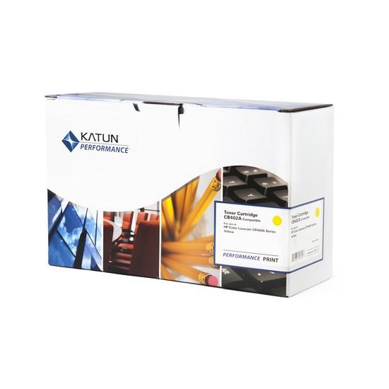 Картридж Katun CE412A (Yellow, 2600 стр)