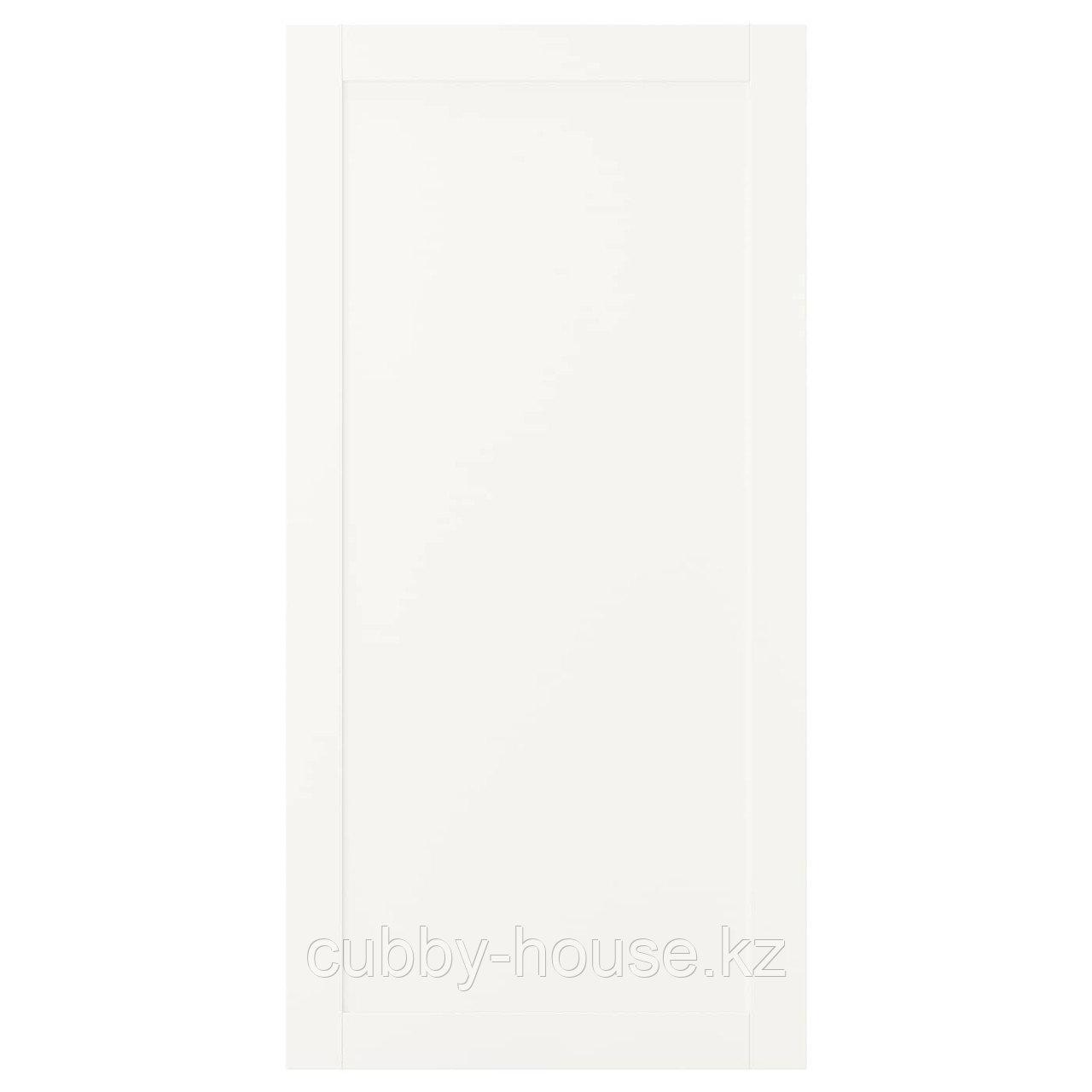 САННИДАЛЬ Дверь, белый, 60x180 см