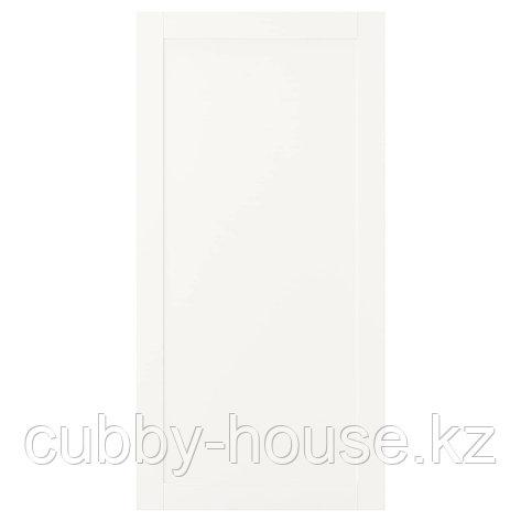 САННИДАЛЬ Дверь, белый, 60x180 см, фото 2