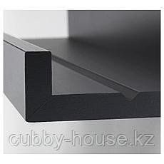 МОССЛЭНДА Полка для картин, черный, 55 см, фото 2