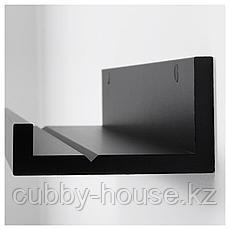 МОССЛЭНДА Полка для картин, черный, 55 см, фото 3