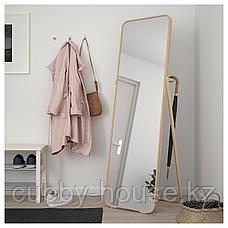 ИКОРННЕС Зеркало напольное, ясень, 52x167 см, фото 3