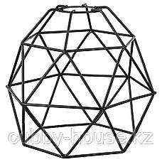 БРЮНСТА Абажур для подвесн светильника, черный, 20 см, фото 2