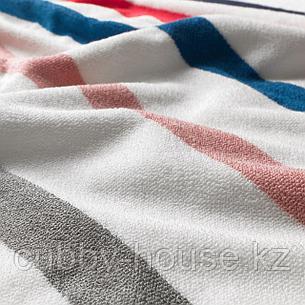 ФОСКОН Банное полотенце, белый, разноцветный, 70x140 см, фото 2