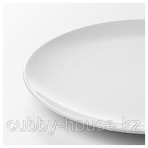 ФЛИТИГХЕТ Тарелка, белый, 26 см, фото 2