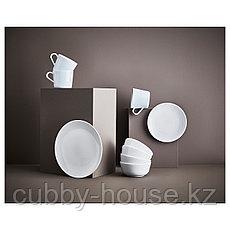 ФЛИТИГХЕТ Тарелка, белый, 26 см, фото 3