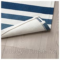 СОНГЛЭРКА Ковер безворсовый, темно-синий, 80x160 см, фото 3