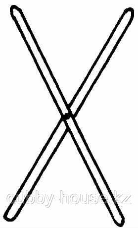 ОБСЕРВАТОР Крестовина, оцинковка, 100 см, фото 2