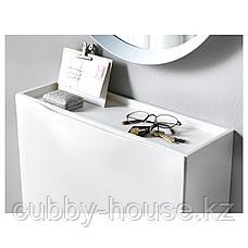 ТРОНЭС Галошница/шкаф, белый, 52x39 см, фото 3