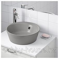 КАТТЕВИК Накладная раковина, серый, 40 см, фото 3