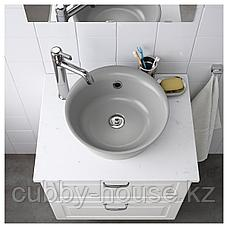 КАТТЕВИК Накладная раковина, серый, 40 см, фото 2