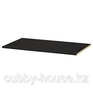 КОМПЛИМЕНТ Полка, черно-коричневый, 100x35 см, фото 2