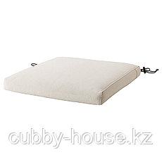 ФРЁСЁН Чехол на подушку стула, для сада бежевый, 44x44 см, фото 2