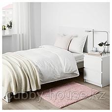 ЛИНДКНУД Ковер, длинный ворс, розовый, 60x90 см, фото 3