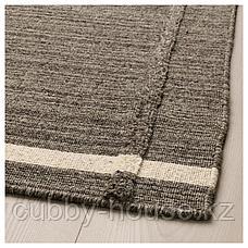 ХОЭТ Ковер безворсовый, коричневый ручная работа коричневый, 170x240 см, фото 3