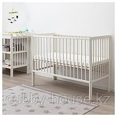 ГУЛЛИВЕР Кроватка детская, белый, 60x120 см, фото 3