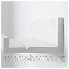 МОССЛЭНДА Полка для картин, белый, 55 см, фото 3