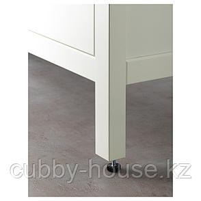 ХЕМНЭС / ОДЕНСВИК Шкаф для раковины с 2 ящ, белый, РУНШЕР смеситель, 83x49x89 см, фото 2
