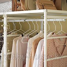 ЙОНАКСЕЛЬ Регулируемая платяная штанга, белый, 46-82 см, фото 3