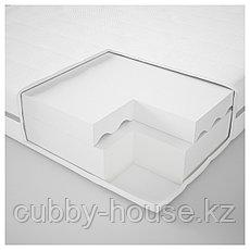 МАЛФОРС Пенополиуретановый матрас, жесткий, белый, 140x200 см, фото 3