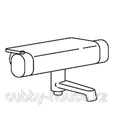 БРОГРУНД Термостатическ смеситель/душ/ванная, хромированный, 150 мм, фото 3