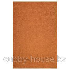 СПОРУП Ковер, короткий ворс, коричневый, 200x300 см, фото 2
