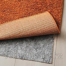 СПОРУП Ковер, короткий ворс, коричневый, 200x300 см, фото 3